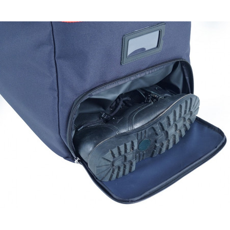 Gamme paquetage Sac intervention 40F08NW 76,00€ -  Sac habillement dédié au transport de l'équipement des pompiers .