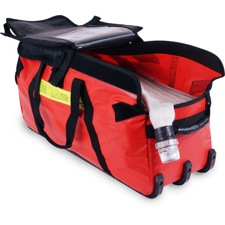 Firefighting range Attack bag 40F50W 253,00€ - Firefighting bag dedicated to the transport of fire hoses.