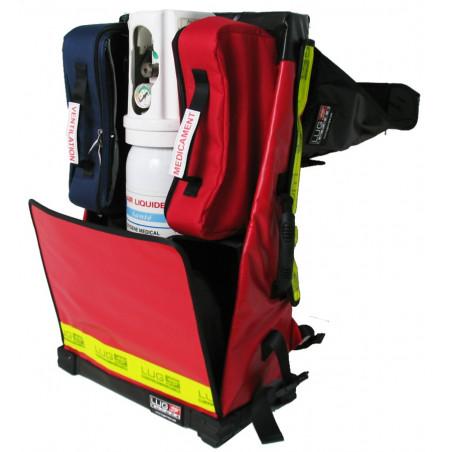Gamme médicale Sac Urgence O² 40U57TRCW 303,00€ - Sac médical dédié au transport de matériel de secours en intervention. Urg...