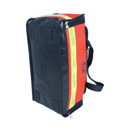 Emergency range Inter first aid bag red poly 40M46PRC1W 164,00€ -  Backpack dedicated to the transport of medical material i...