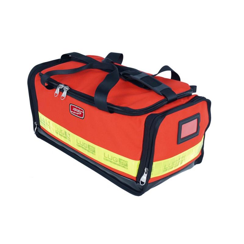Gamme médicale Sac inter 1er secours en poly rouge 40M46PRC1W 164,00€ - Sac médical dédié au transport de matériel de secour...