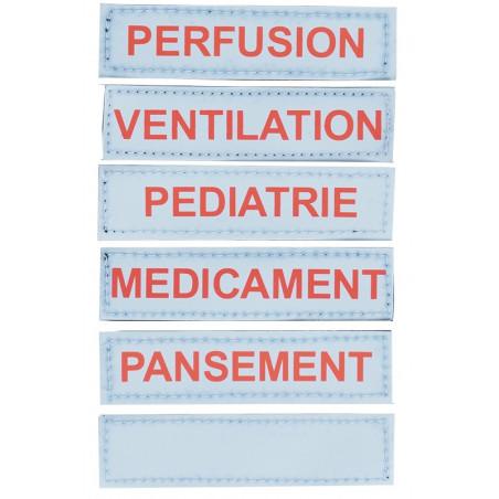 Gamme médicale Sac secours médical 40M24PBC1W 263,00€ - Sac médical dédié au transport de matériel de secours en interventio...