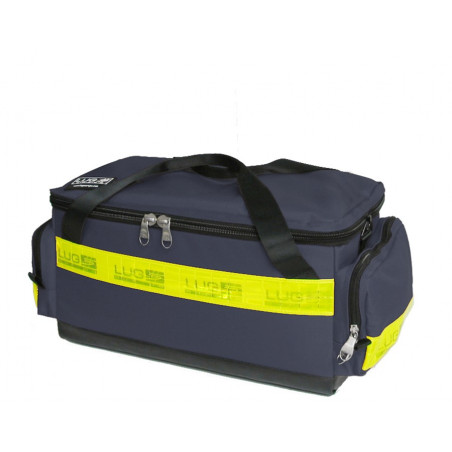 Emergency range Inter first aid bag blue poly 40M46PBCW 164,00€ -  Backpack dedicated to the transport of medical material i...