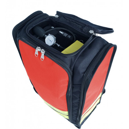 Emergency range First aid bag 40M24PBC1W 263,00€ -  Backpack dedicated to the transport of medical material in intervention.