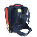 Sac secours médical poly rouge