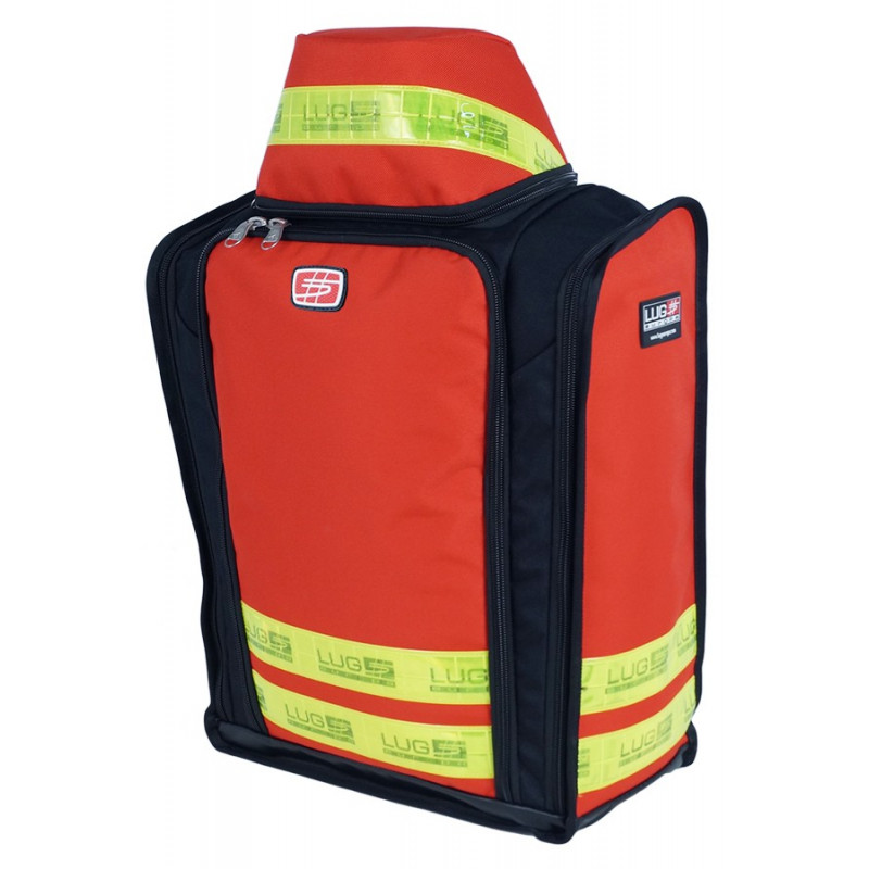 Emergency range O² rescue bag 40M22PBC1W 259,00 € -  Backpack dedicated to the transport of medical material in intervention.