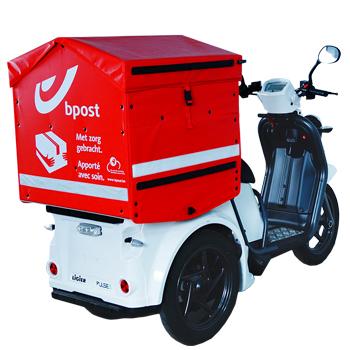 Contenant arrière scooter BPOST