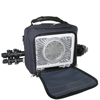Housse pour système d'éclairage mobile