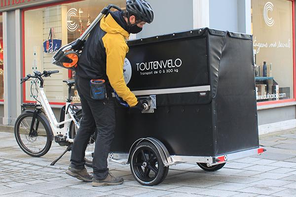 P-BOX TOUTENVELO pour la livraison en centre-ville
