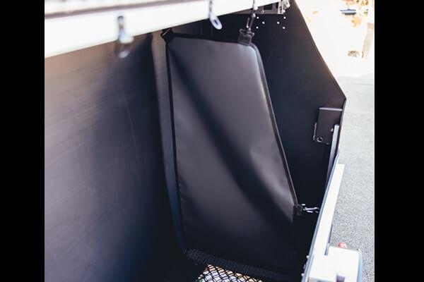 P-BOX, séparation amovible pour compartimenter l'intérieur du contenant