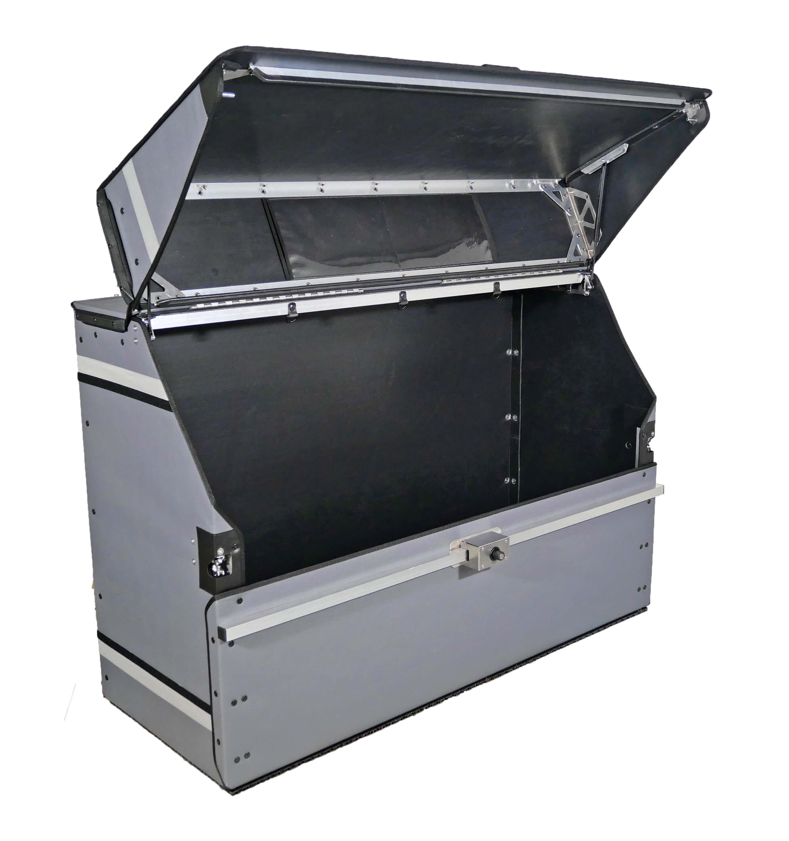 P-BOX standard ouverte pour livraison de colis, courses alimentaires etc.