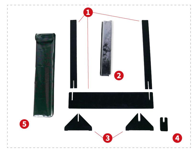 Hygie divider kit