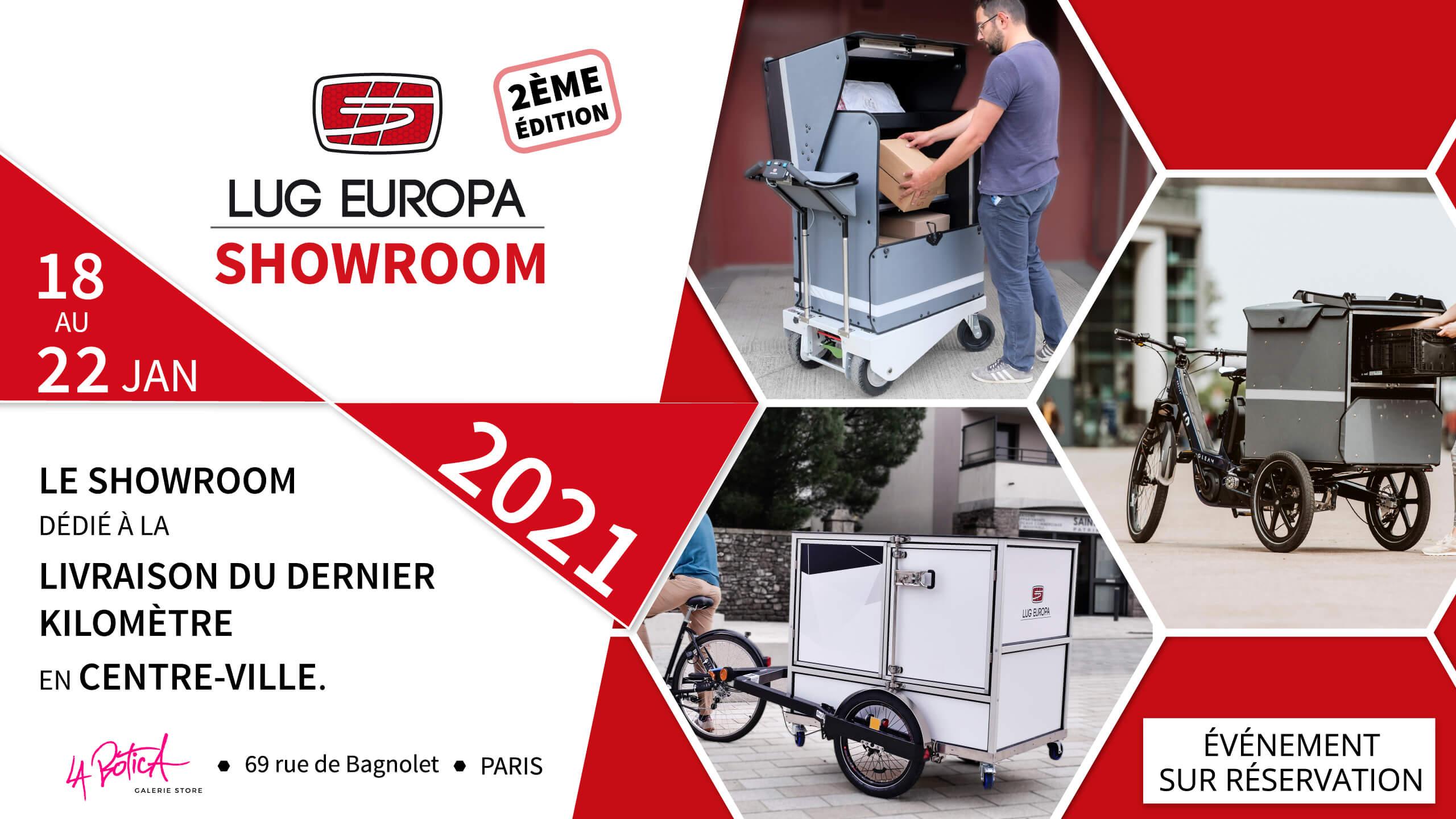 SHowroom LUG EUROPA à Lyon du 18 au 22 janvier 2021 à Paris