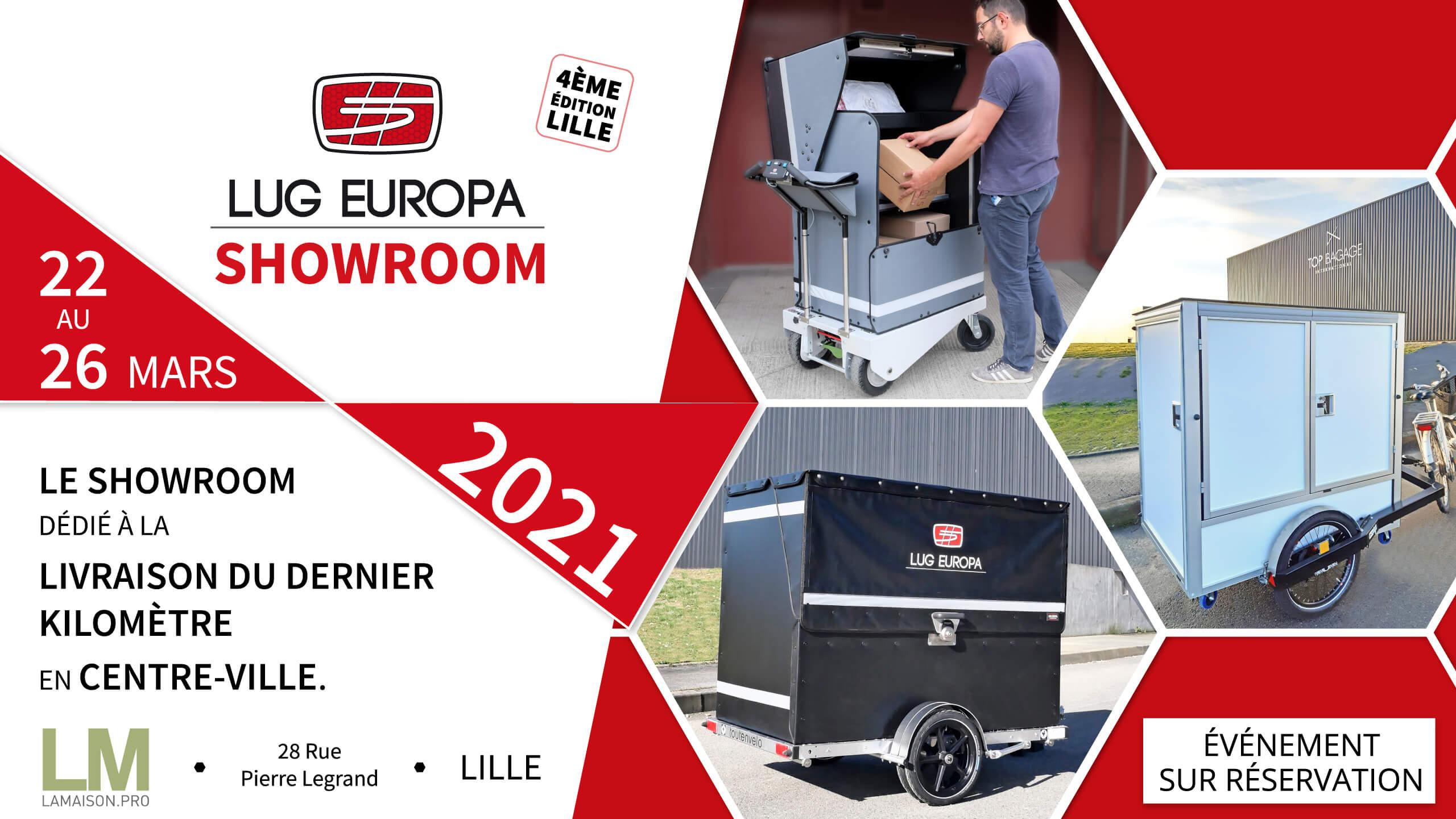 SHowroom LUG EUROPA à Lille du 22 au 25 Mars
