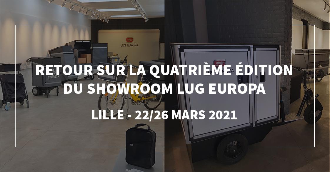 SHowroom LUG EUROPA à Lille du 22 au 26 Mars 2021